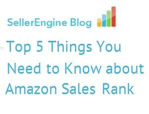 amazon best seller rank sales
