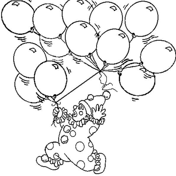 Resultat De Recherche D Images Pour Coloriage Ballon Baudruche