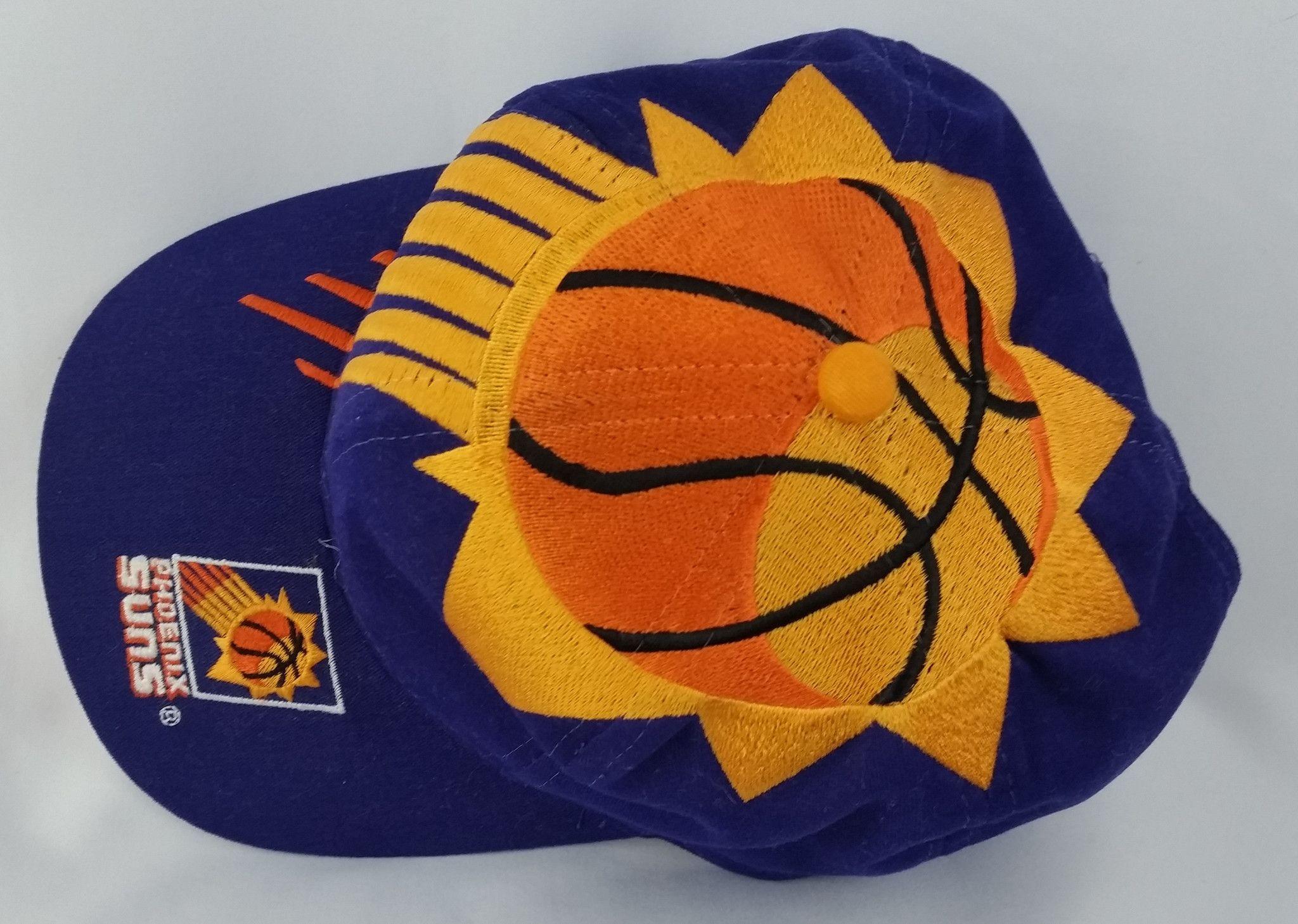 77f8a48e9956a Phoenix Suns Vintage Snapback The Game Big Logo Hat NBA Cap Rare Starter  Logo7