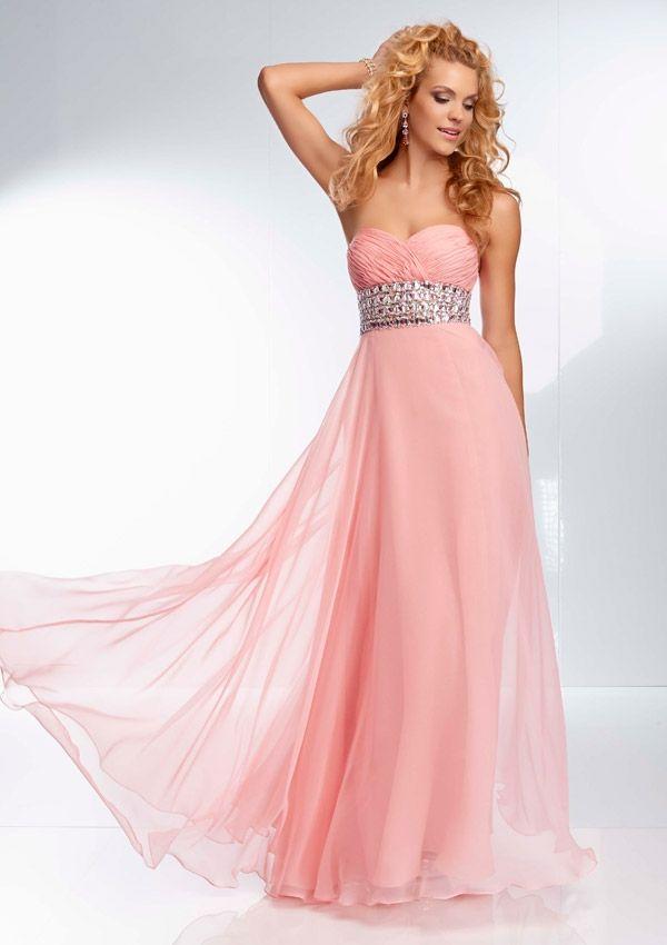 Pretty Pink Prom Dresses - Ocodea.com