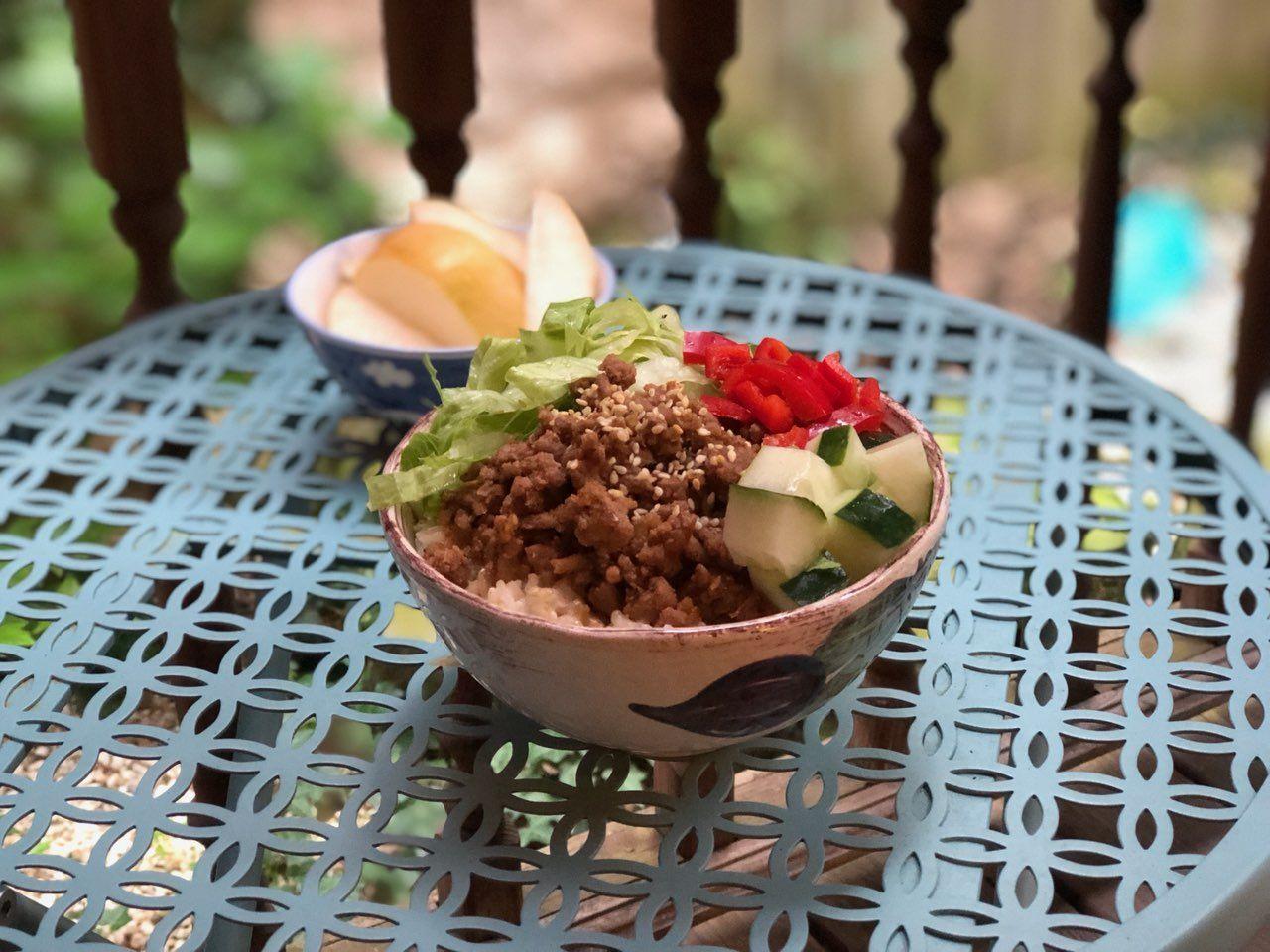 Korean Bulgogi Bowl   Recipe in 2020   Bulgogi, Beef bowls ...