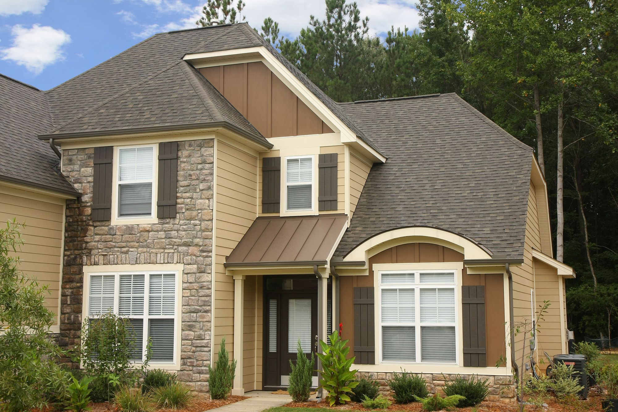 Image Of Most Popular Types Of Siding For Homes House Exterior House Siding Hardy Plank Siding