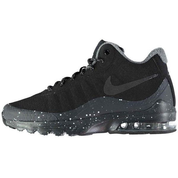 Nike Air Max Invigor Mid Top Ladies Trainers (€85) ❤ liked on Polyvore featuring shoes, sneakers, nike sneakers, nike trainers, nike footwear, nike shoes ...