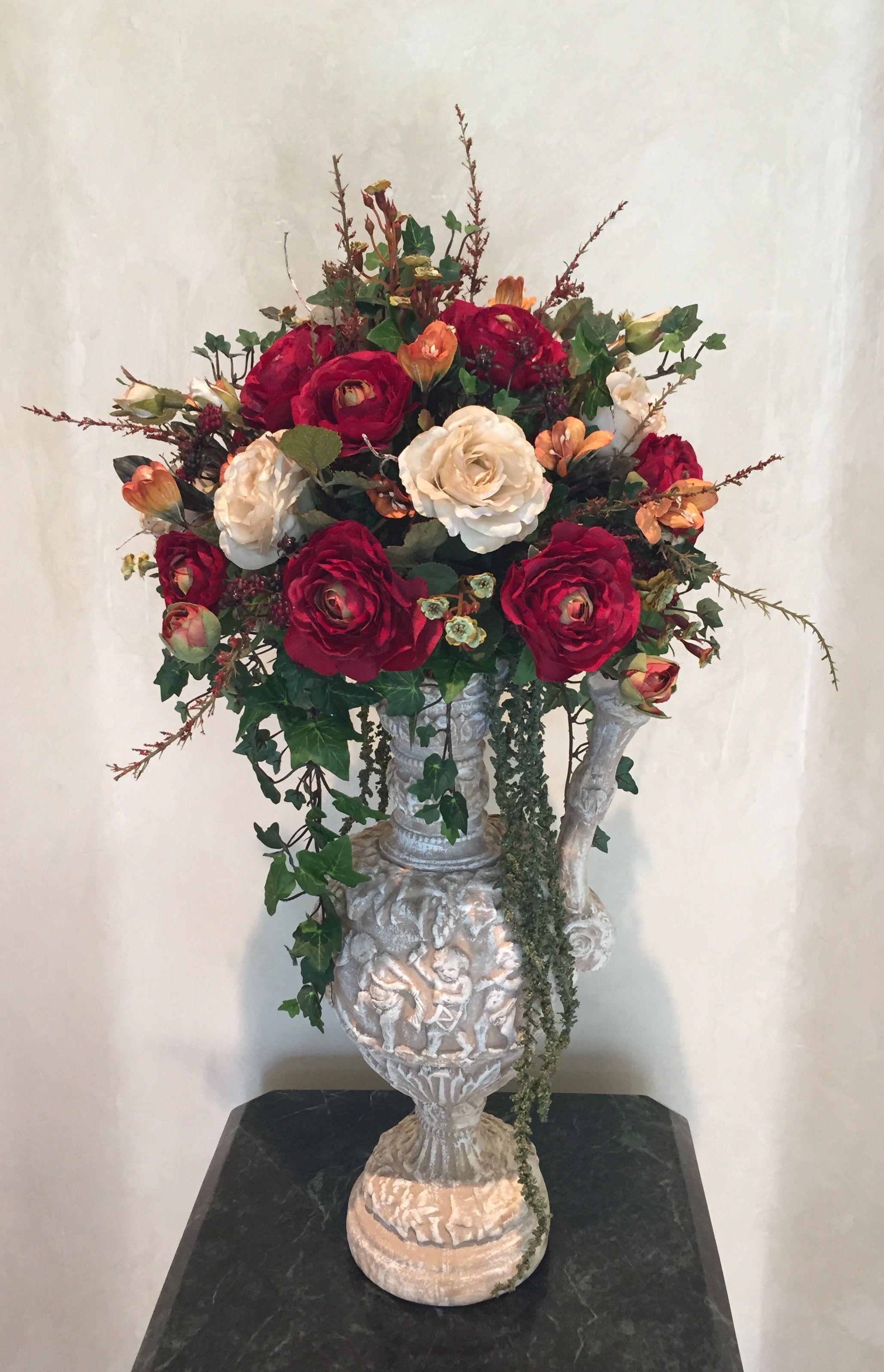 Victorian Silk Floral Design Krista Floral Amp Design