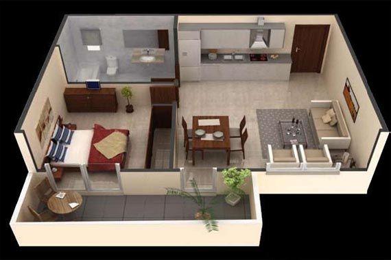 What is a Studio Apartment? | Studio apartment, Apartments ...