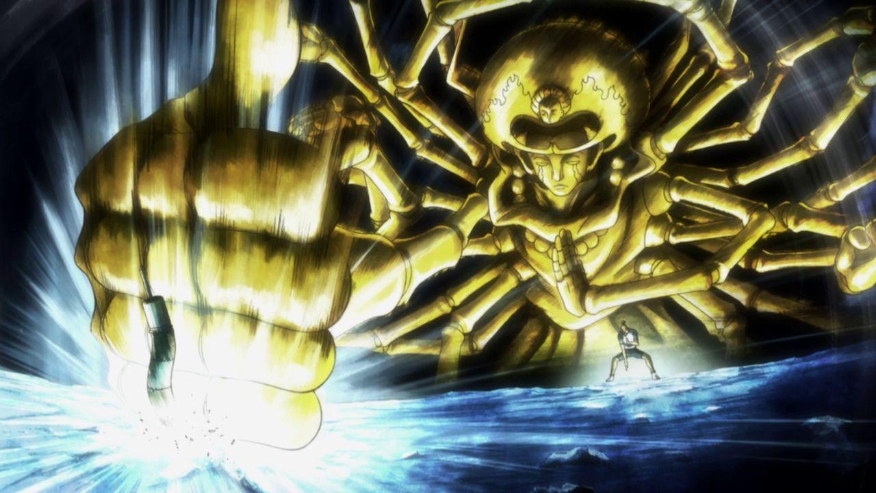 100 Type Guanyin Bodhisatava Chairman Isaac Netero Hunter X Hunter Hunter X Hunter Hunter Anime