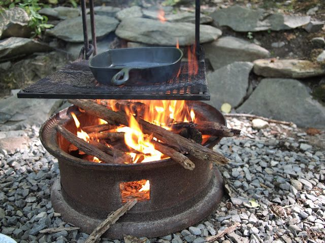 Cooking Over A Real Fire Fire Pit Cooking Fire Pit Fire Pit