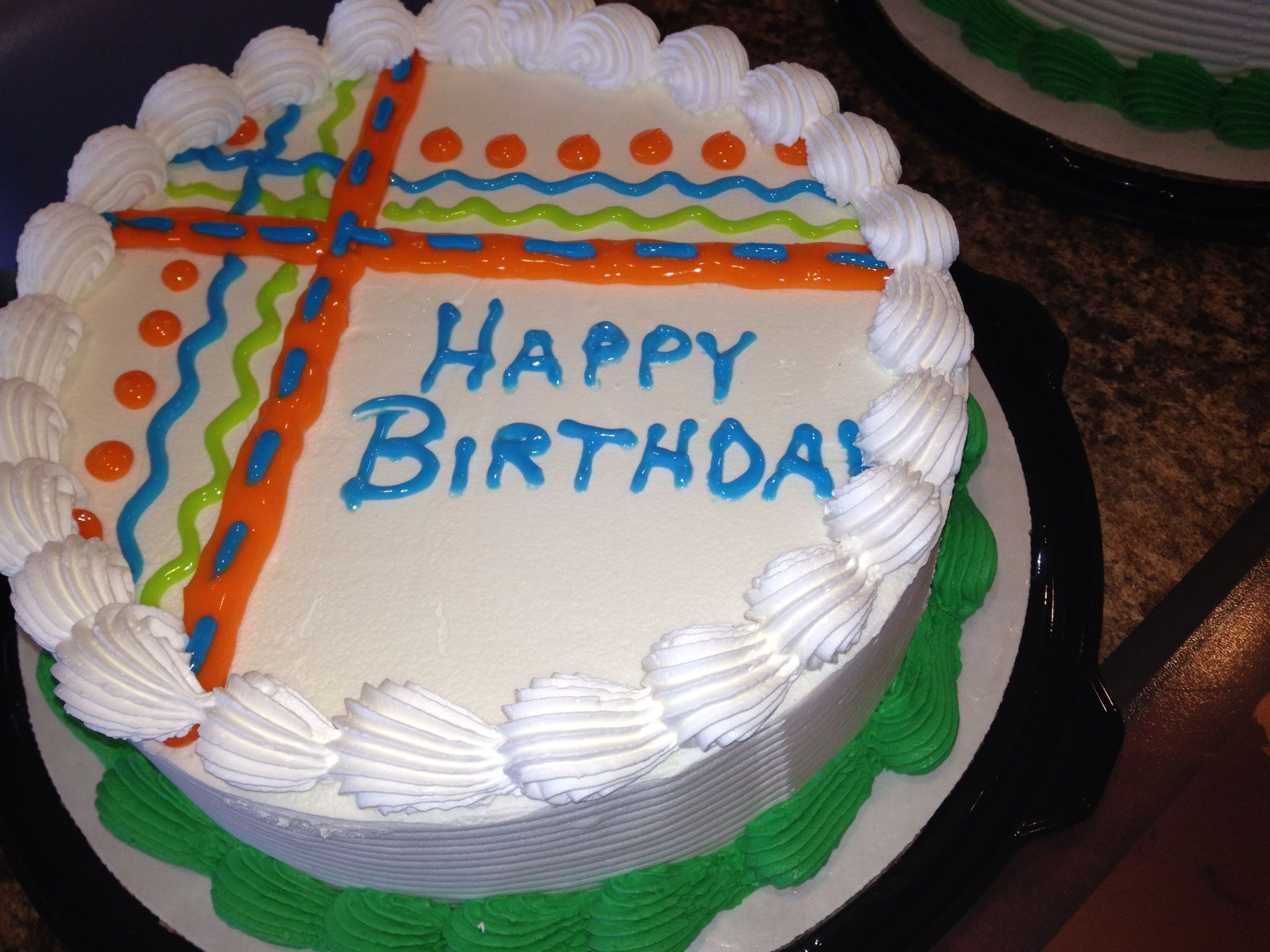 Simple Gel Design Dq Cakes Dairy Queen Cakes Pinterest Cake