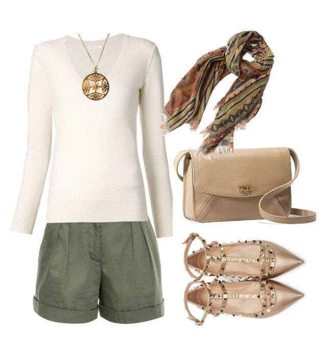 """Untitled #301"" by habibati on Polyvore featuring Vilshenko, Chloé, Nikko, UGG Australia, Valentino and Etro"