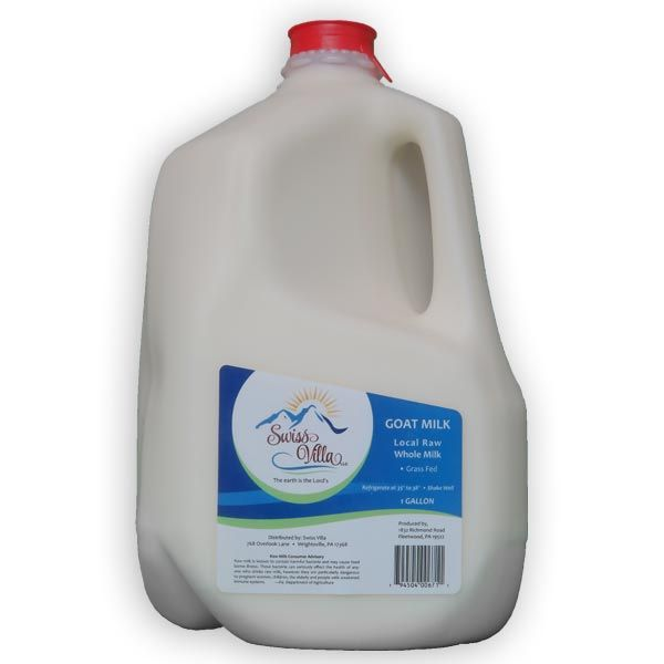 Serious raw goat milk drinkers like this 1 gallon jug of soy free GMO free small farmed raw goat milk. Ask PA health food stores and independent grocers to special order it if you cannot find it.