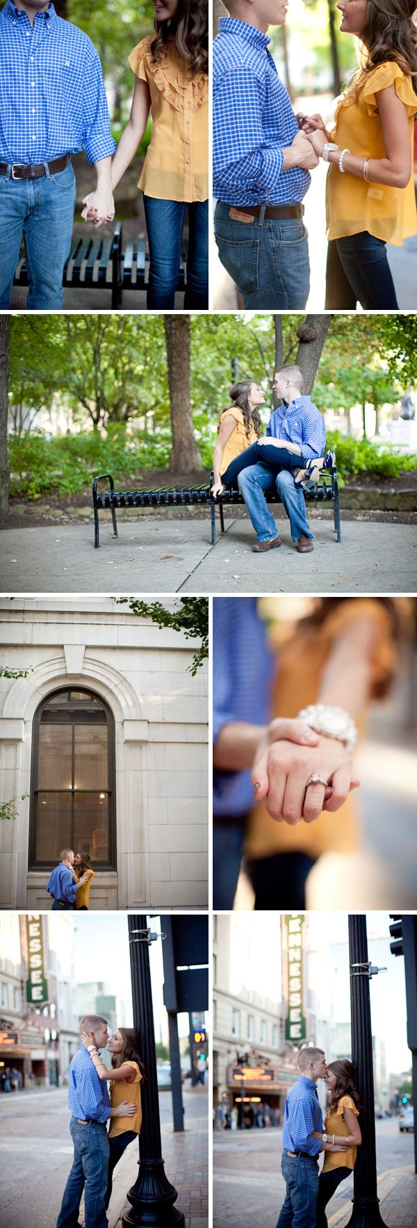 engagement pictures | Shannon Kelley #urban photoshoot