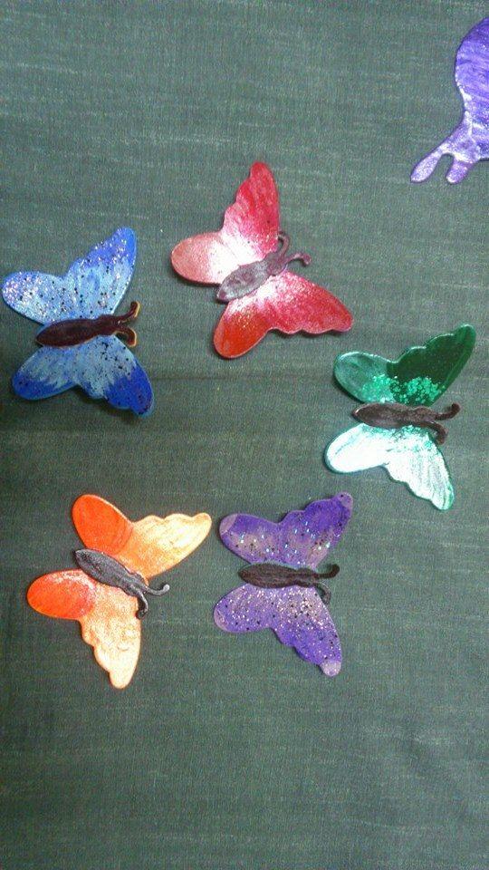 borboletas de eva