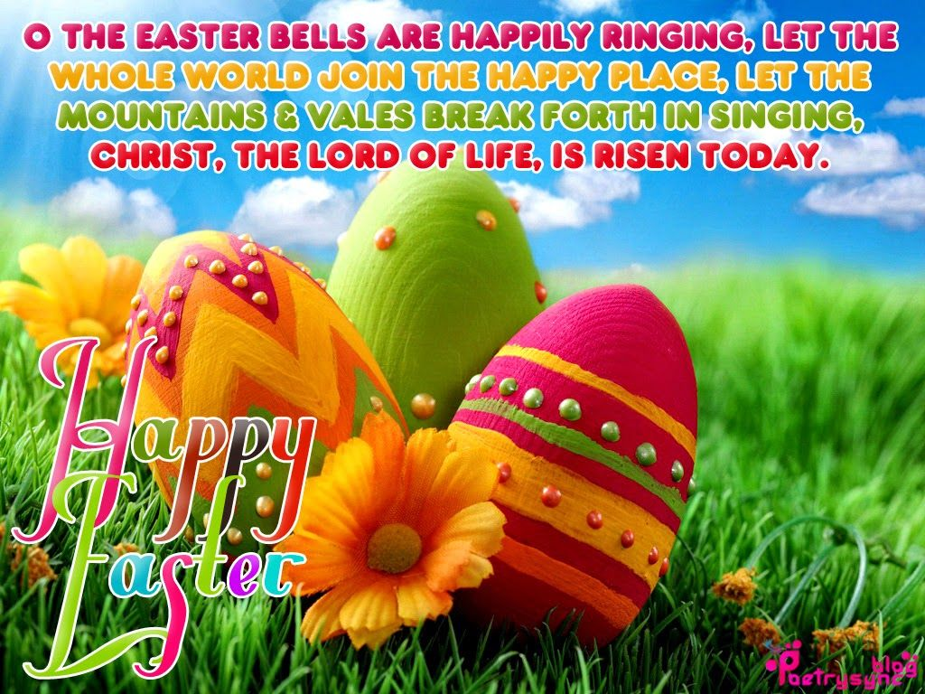 Happy Easter Sunday Wishes SMS and Greetings Messages – Easter Card Messages