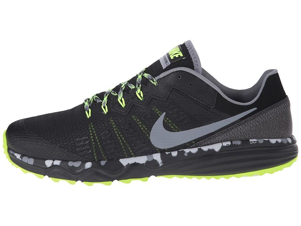 Nike Dual Fusion Trail 2 Men's Running Shoes Black/Volt/Wolf Grey/Cool