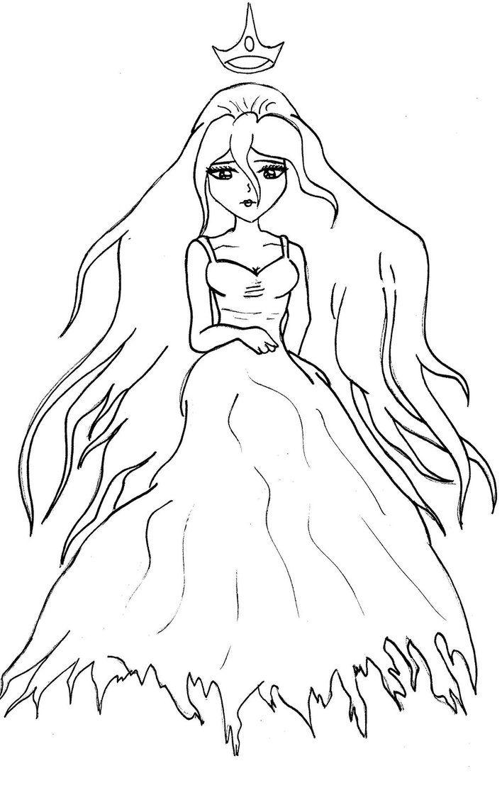 Drawing Idea Princess Coloring Pages Princess Coloring Vampire