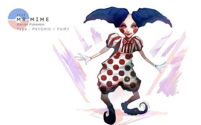 mr mime is listed or ranked 25 on the list this artist draws