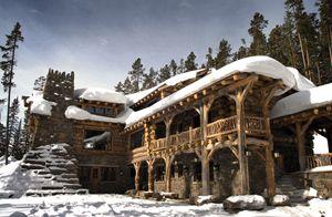 Cyclist Greg Lemond S Log Home In Montana Dream Log Home Pinterest Montana Logs And Cabin