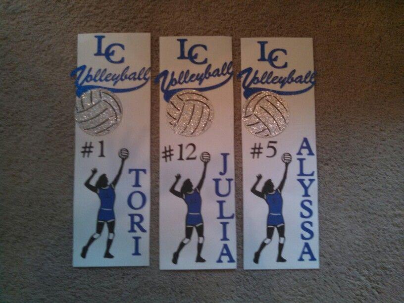 Volleyball Locker Decorations Volleyball Volleyball Volleyball