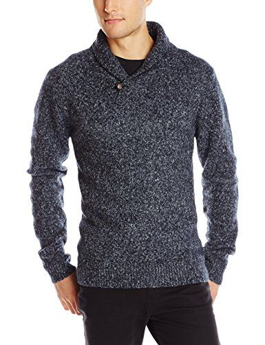 French Connection Men's Feltet Fleck Knits Cowl Neck Sweater ...