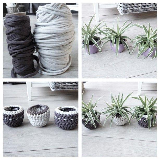 Zpagetti Haken Bloempot Haken Crochet Diy Crochet En Crochet Home