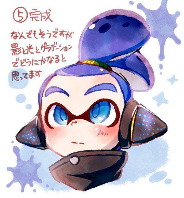 Splatoon 2 Art, Boy Art, Anime