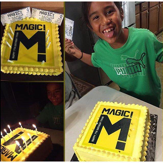 "@ournameismagic's photo: ""Happy 7th Birthday Tyson! See ..."