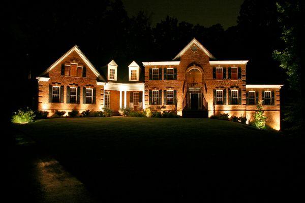 Uplighting « Exterior Landscape Lighting Blog Outdoor Lighting