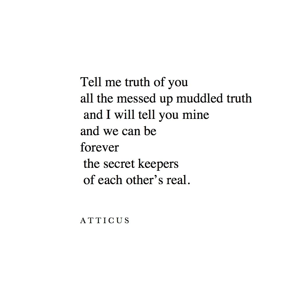 Secret keepers atticuspoetry atticus secrets forever