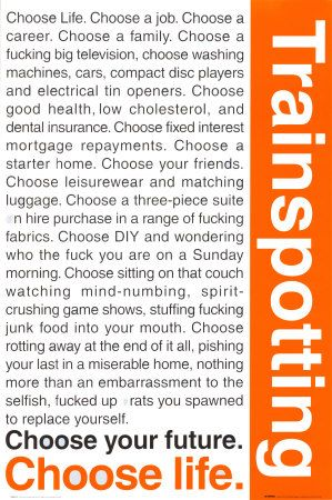 Trainspotting Posters Allposters Com In 2021 Trainspotting Trainspotting Quotes Trainspotting Poster