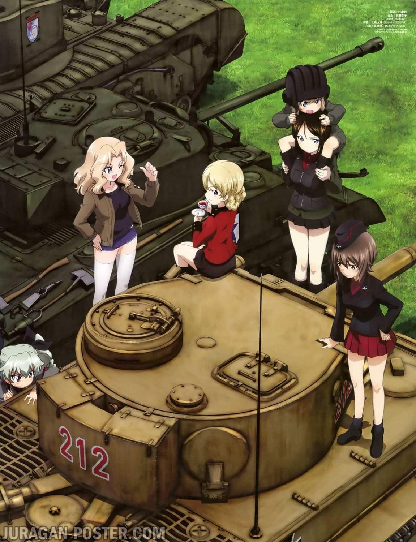 Jual Poster Anime Girls Und Panzer Juragan Poster Com Jual Poster Anime Girls Und Panzer Anime Tank Manga Girl Anime