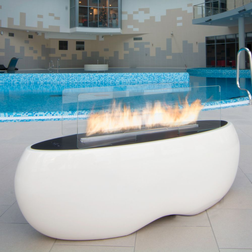 Planika Zen Outdoor Bio Ethanol Fire From Fireplace Products Amazing Design