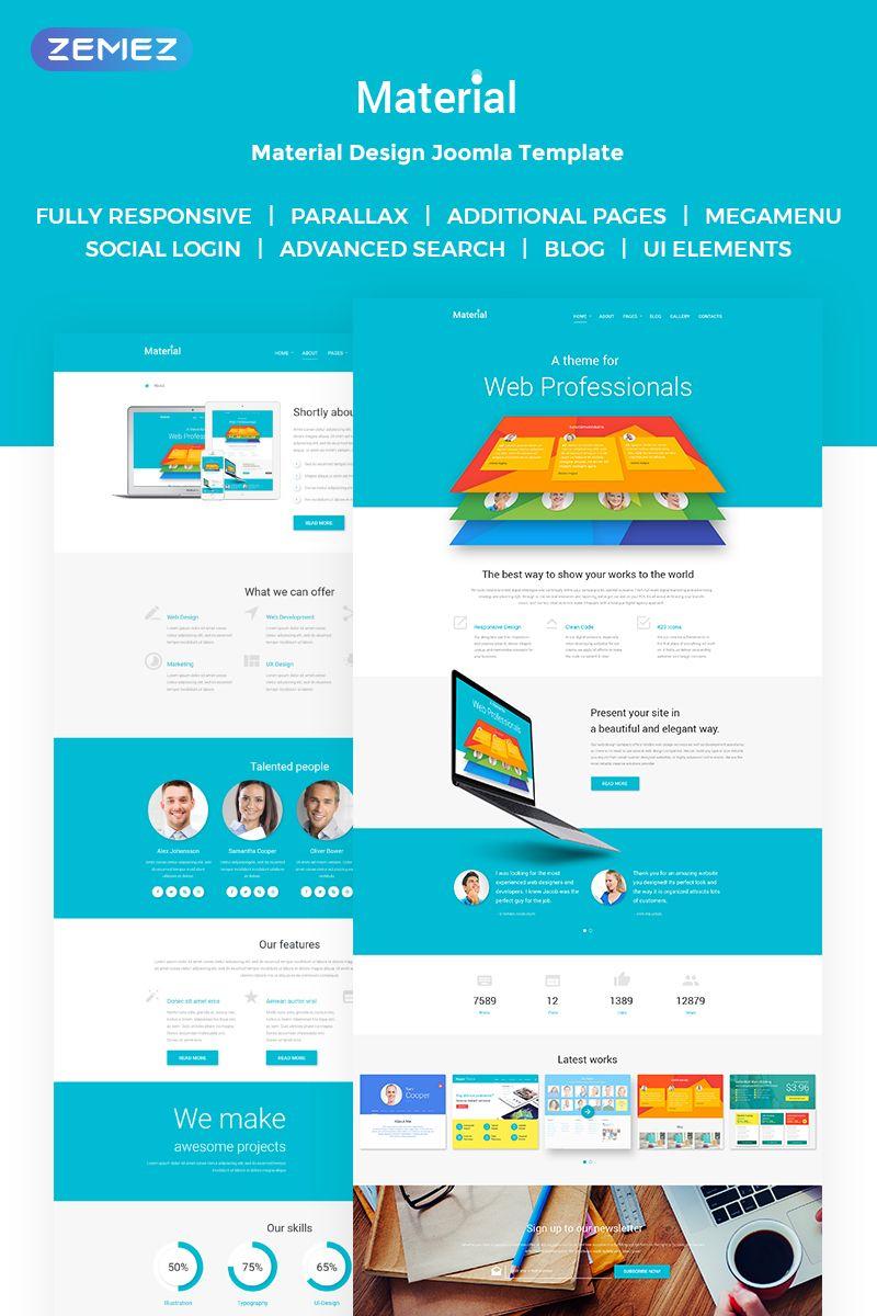 Web Design Joomla Template Joomla Templates Joomla Web Design
