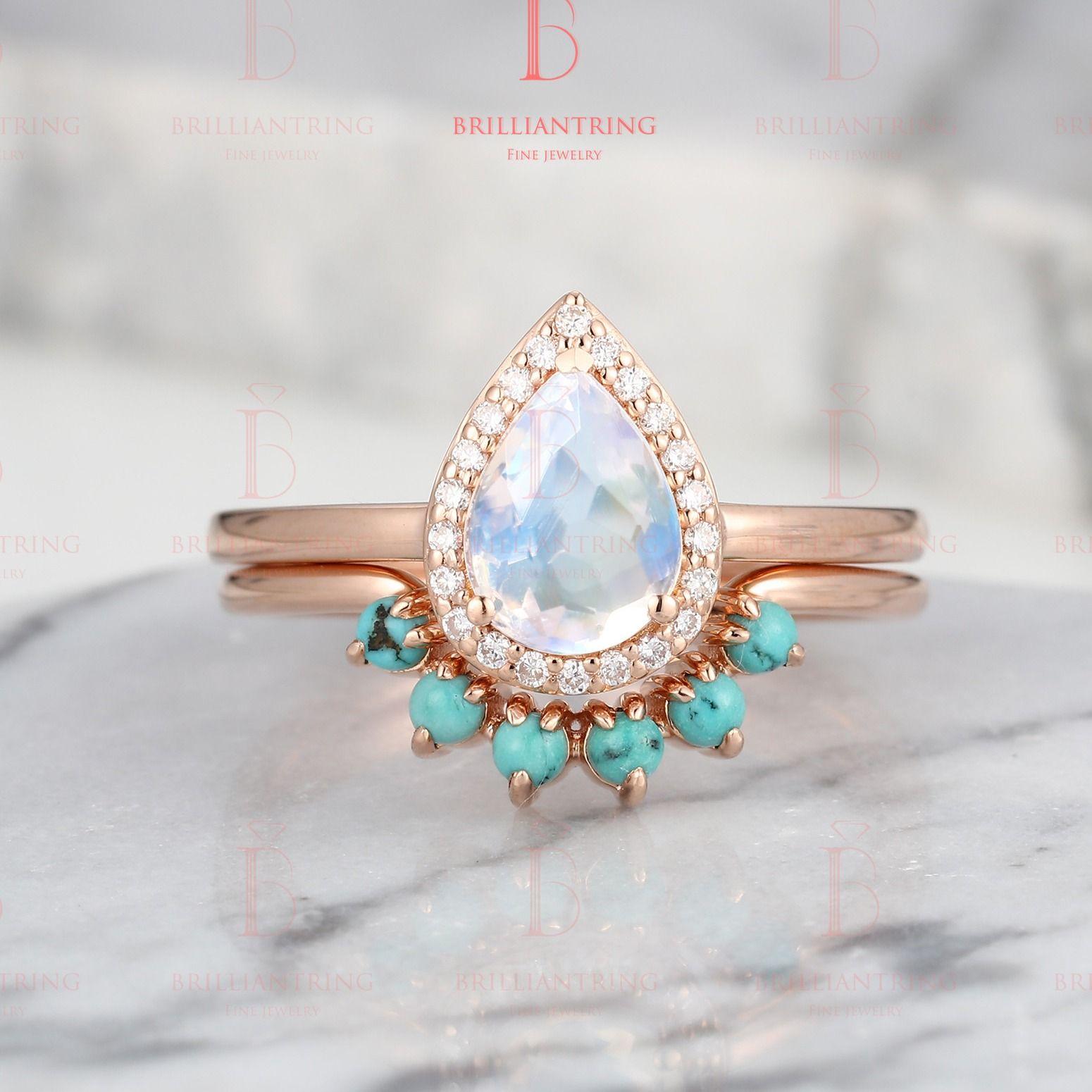 36+ Turquoise wedding band ring info