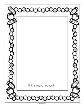 Back to School Worksheets NO PREP Preschool, Early