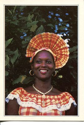 Guadeloupe - Costume traditinnel