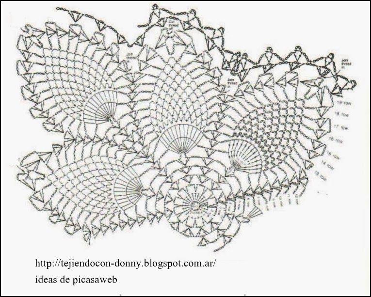 PATRONES - CROCHET - GANCHILLO - GRAFICOS: CARPETAS PARA TEJER A ...