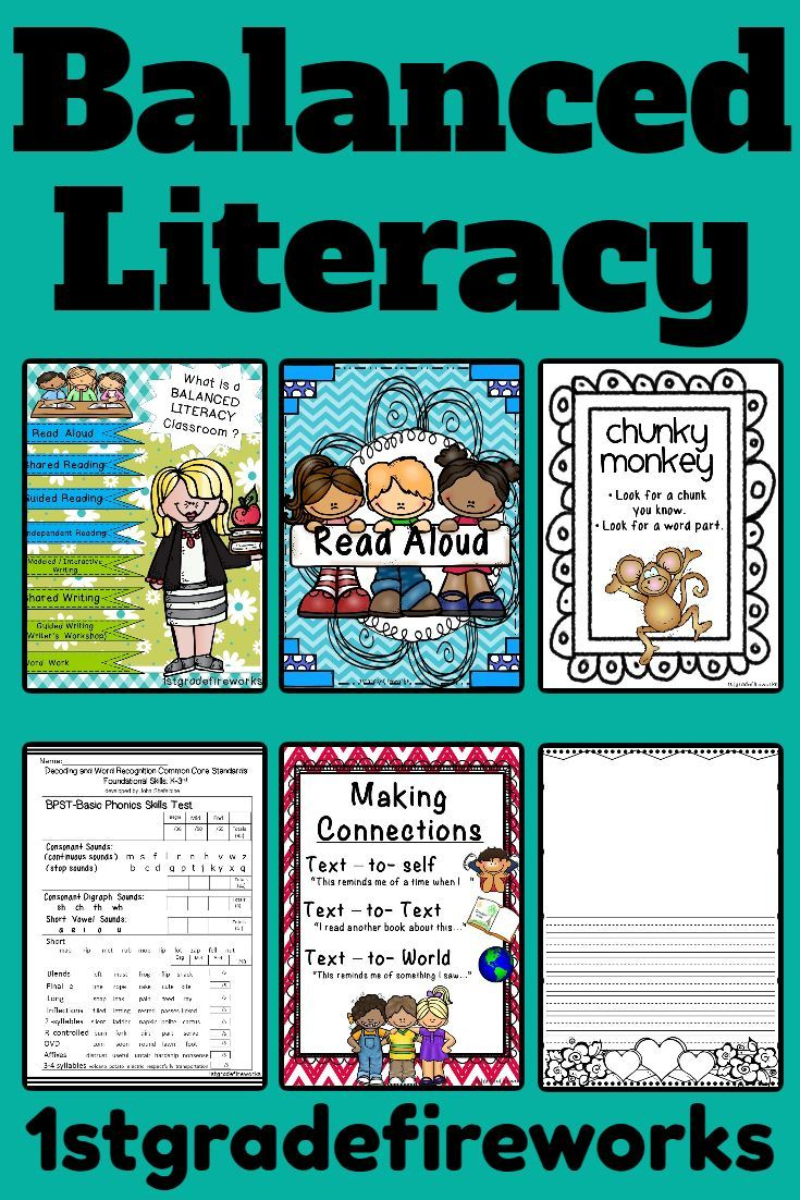 BALANCED LITERACY for the Elementary Classroom All of the resources needed to create a BALANCED LIT
