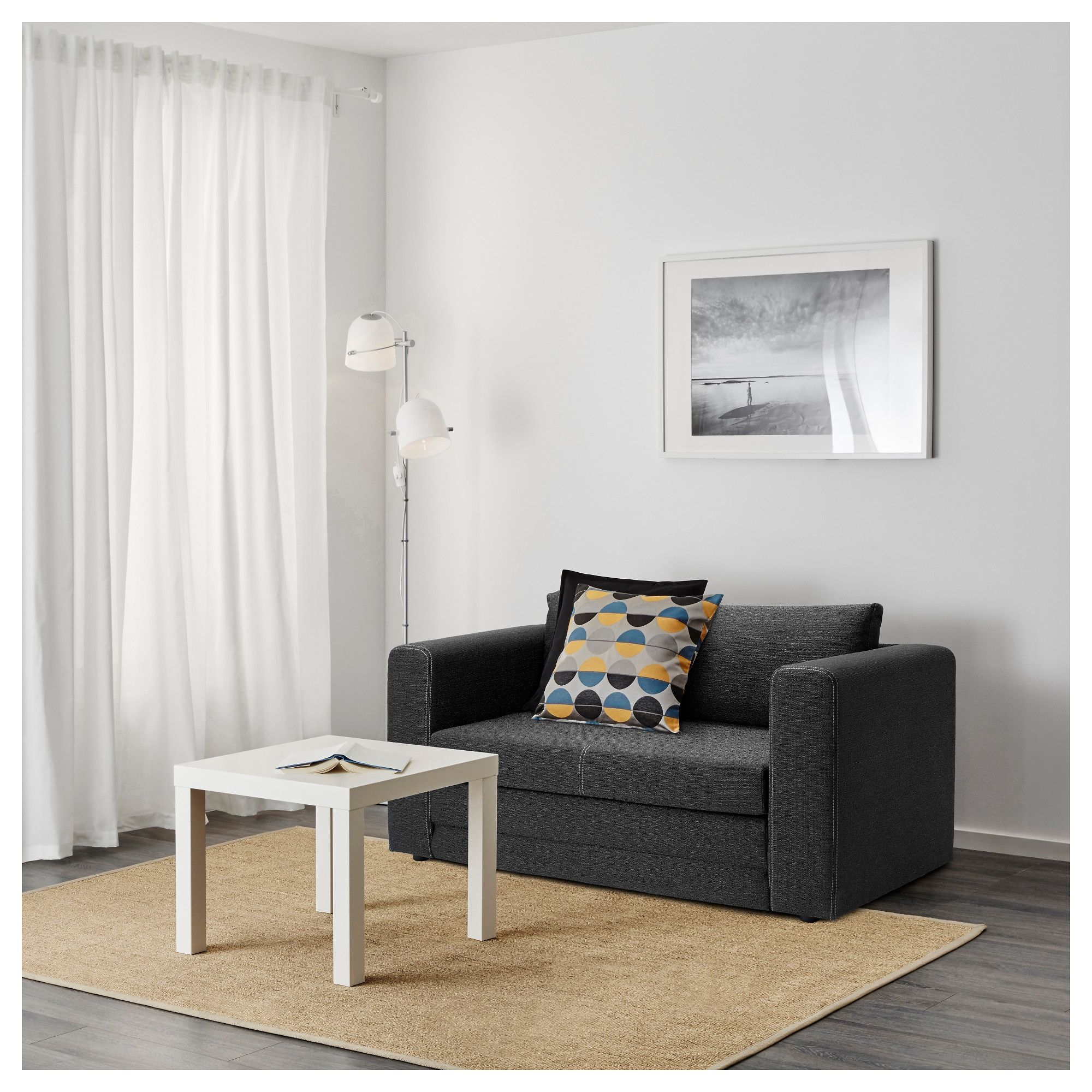 askeby 2er bettsofa grau in 2019 bettsofa sofa und ikea bett