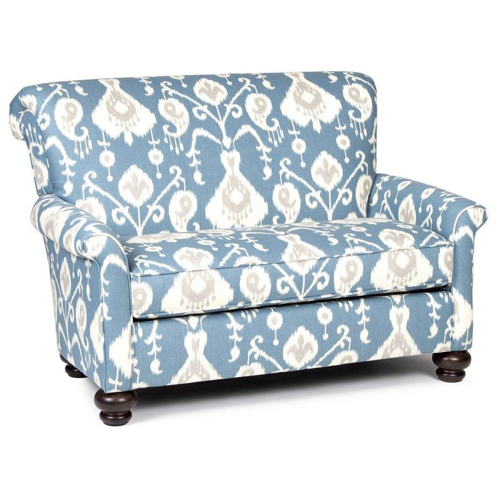 Chelsea Home Furniture 791501 C JY Granville Chair In Blue/White