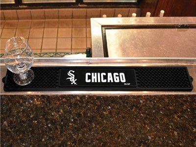 "MLB - Chicago White Sox Drink Mat 3.25""x24"""