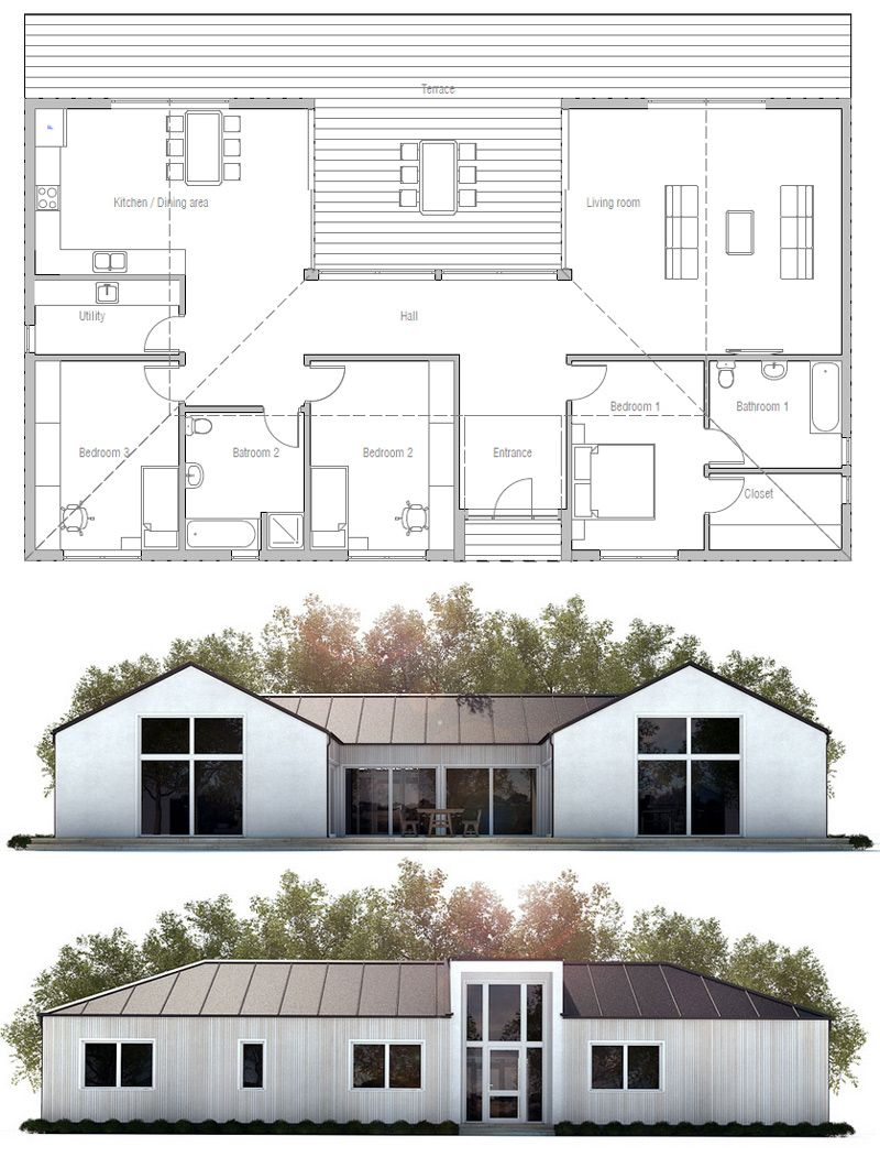 ^ 1000+ images about Huse on Pinterest House plans, Haus and House