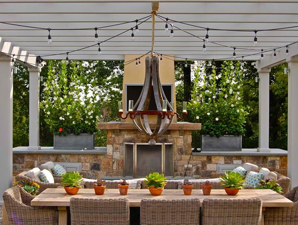 Outdoor Gazebo Lighting Interesting 20 Amazingly Gorgeous Gazebo Lighting  Gazebo Lighting Lights And Inspiration
