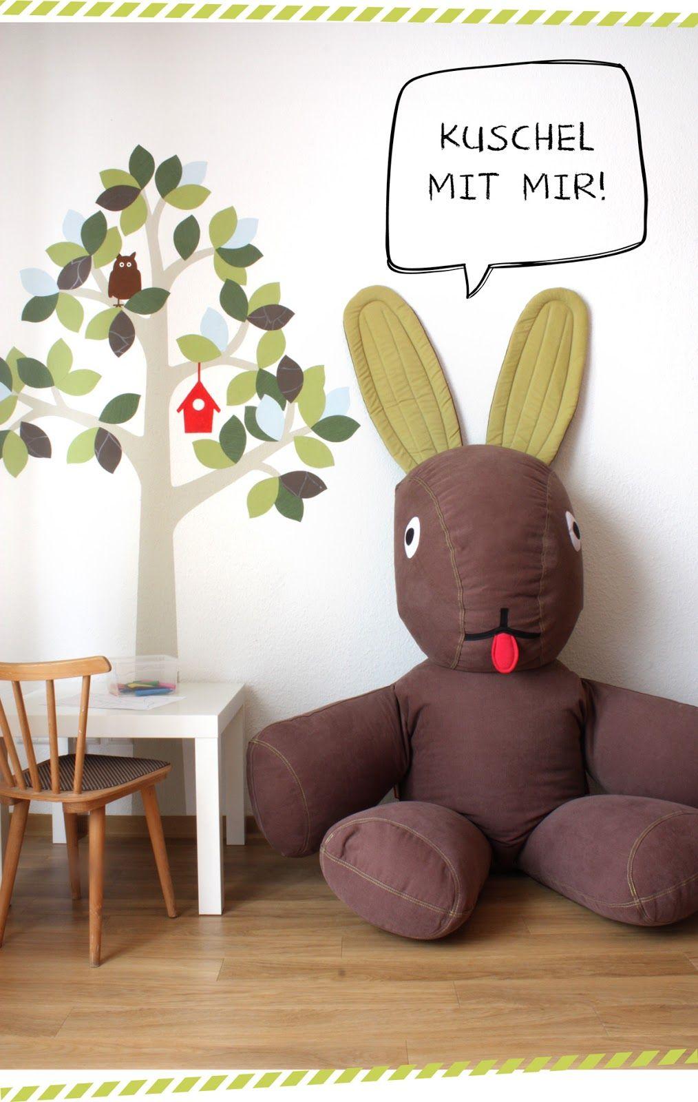 hasen sitzsack sitzs cke f r kinder pinterest hase. Black Bedroom Furniture Sets. Home Design Ideas
