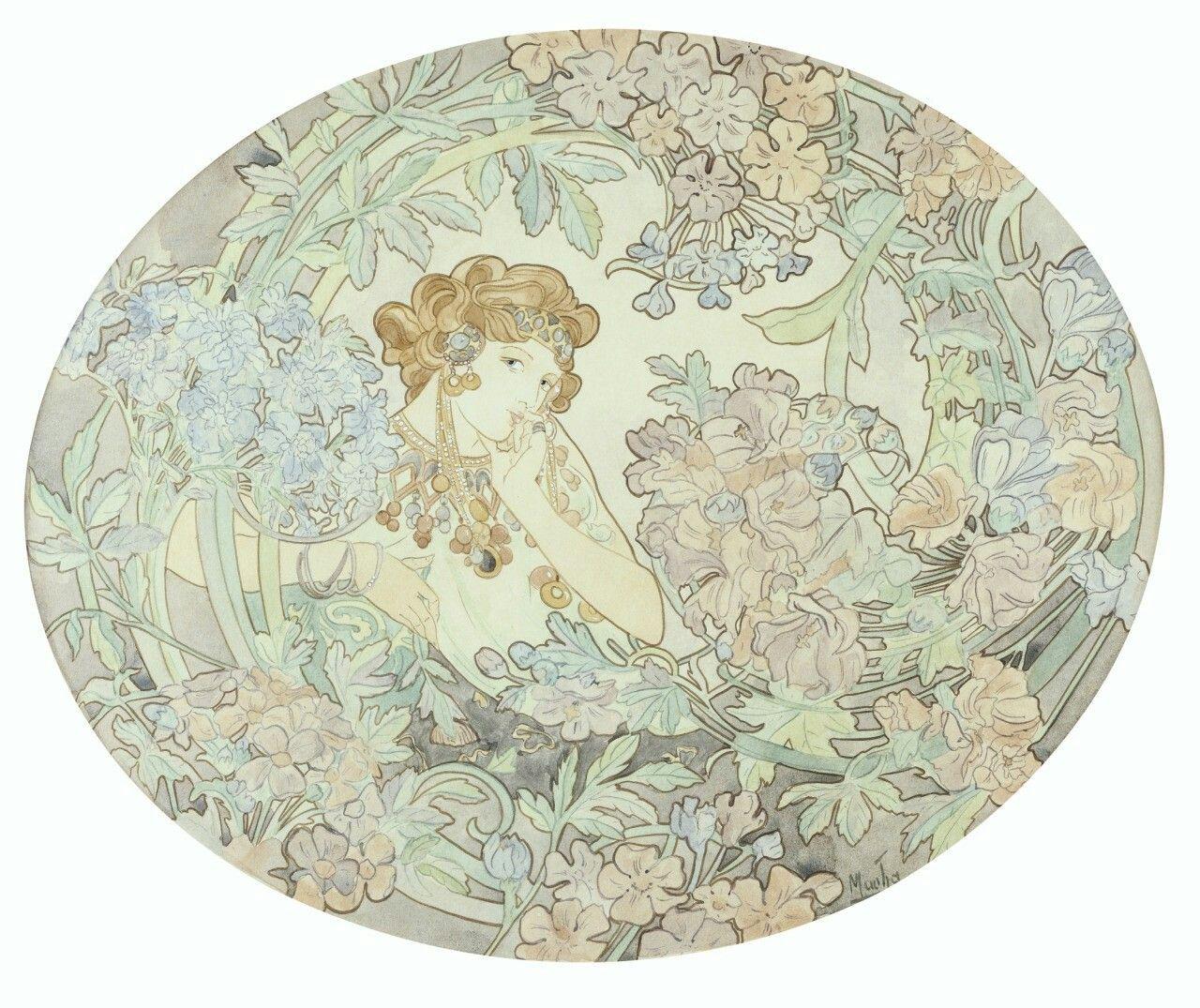 Alphonse Mucha (Czech, 1860 - 1939)