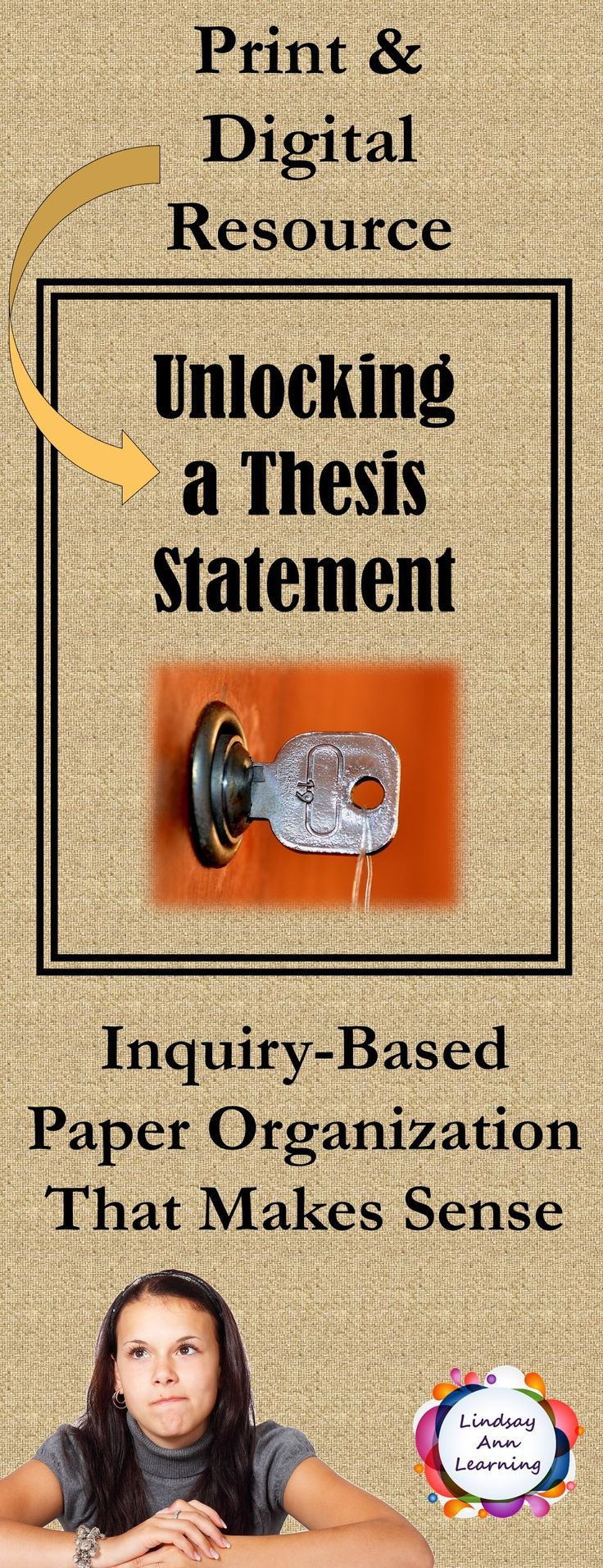 Digital Teaching Resource That Will Transform The Way You Teach Paper Organization A Must Have Tool I Topic Sentences Thesis Statement Inquiry Based Learning