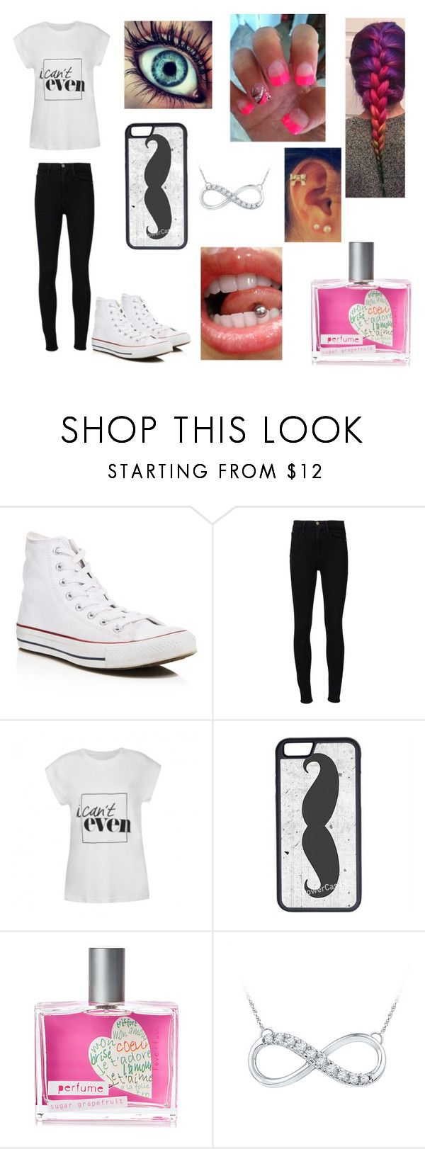 """""""Untited#37"""" by simpsons-4-ever ❤ liked on Polyvore featuring Converse, Frame Denim, Ally Fashion, CellPowerCases and Love & Toast"""