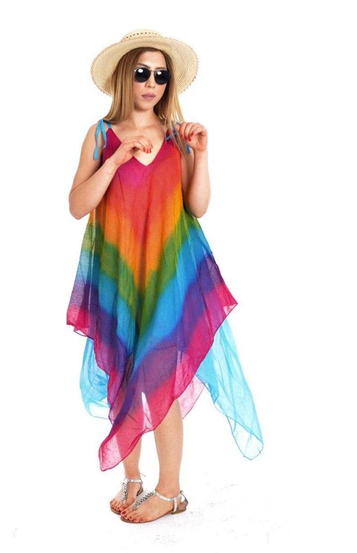 Rainbow Dress Cotton Maxi Dress Summer Dresses For Women Etsy Summer Maxi Dress Summer Dresses For Women Maxi Dress Cotton [ 1228 x 794 Pixel ]