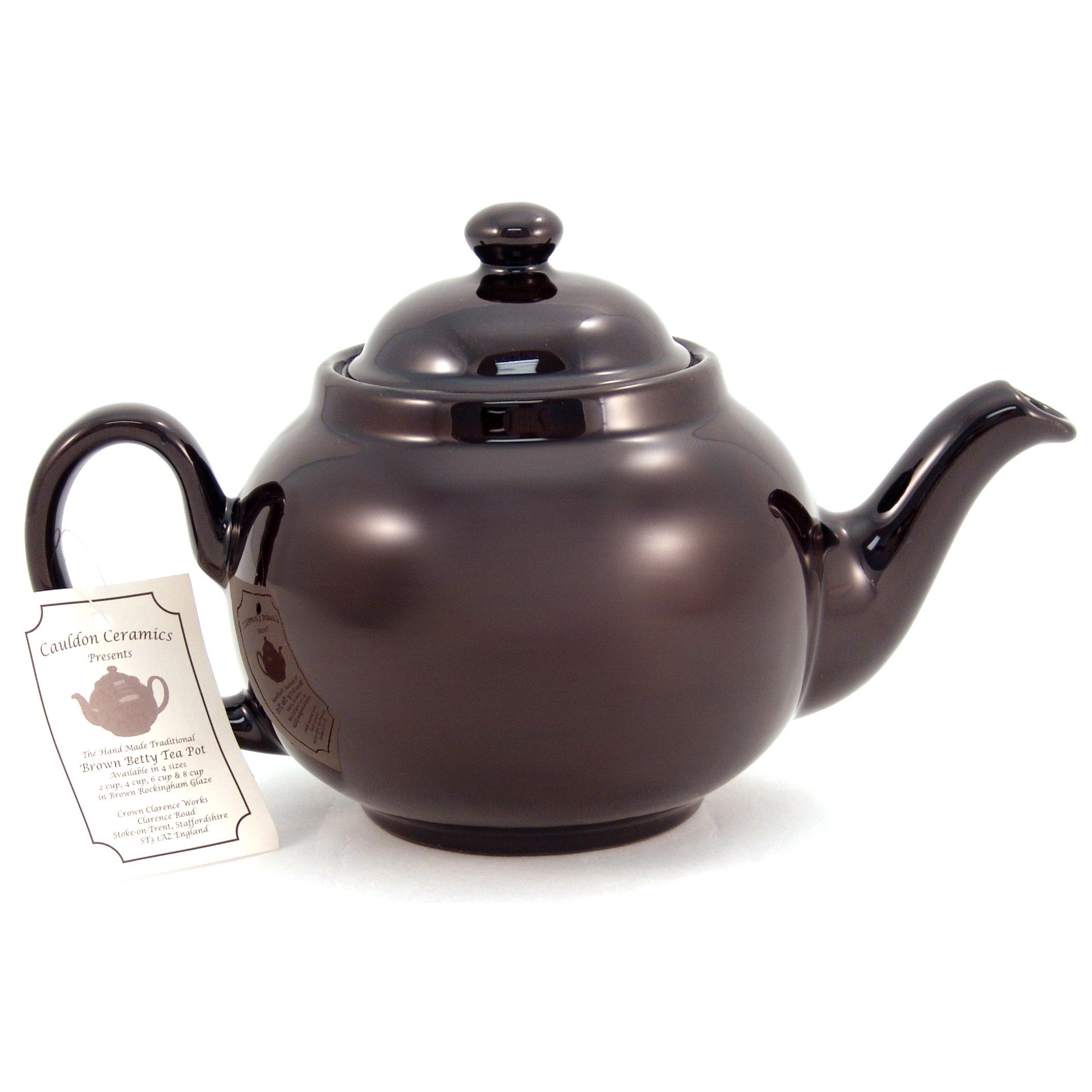 Making Tea In A Teapot Brown Betty Teapot 6 Cup The Real Tea Party Brown