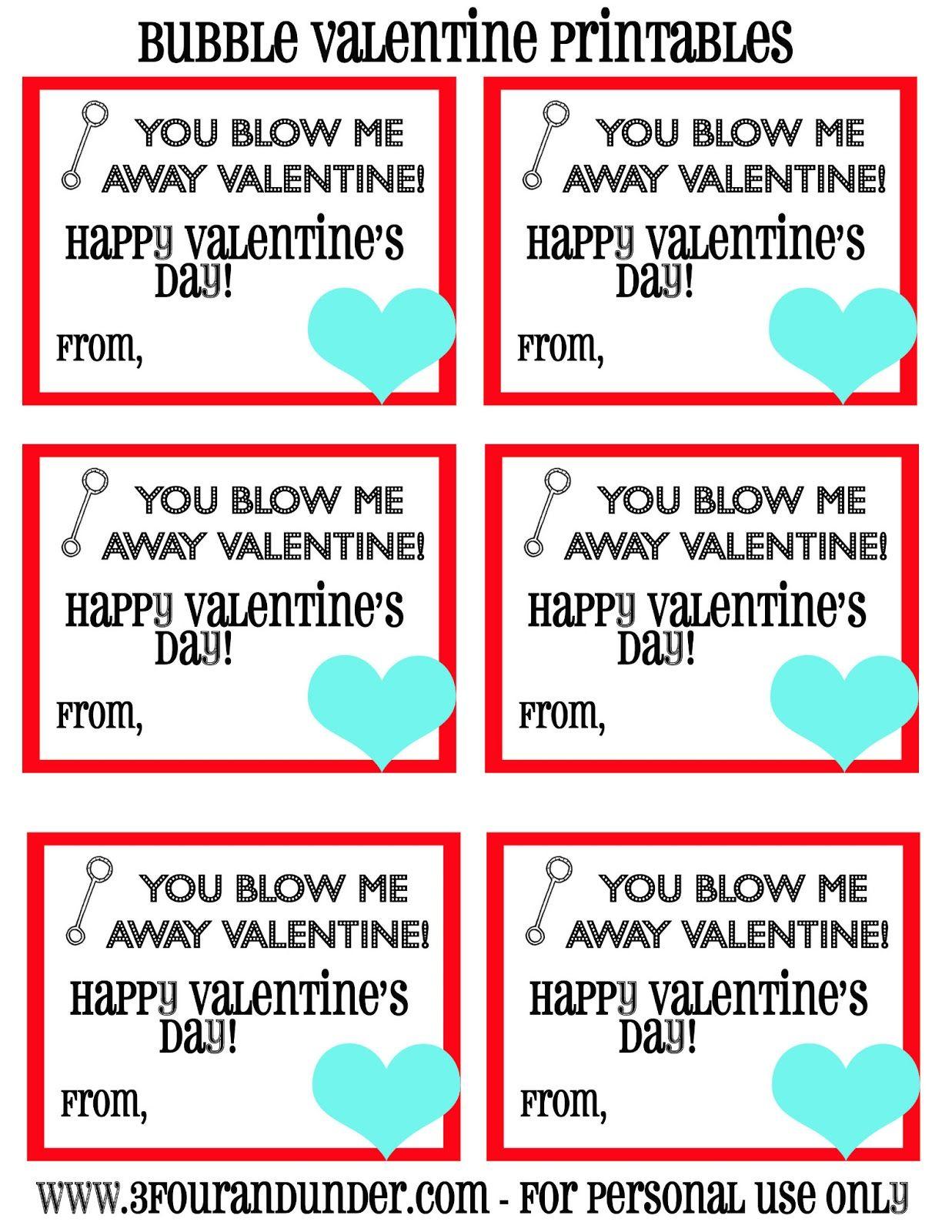 Blow Me Away Valentine Printable Jpg 1 237 1 600 Pixels Valentines Printables Bubble Valentines Valentines