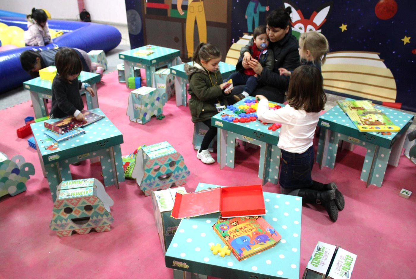 Diseño de ludotecas infantiles. Decoración, mobiliario y actividades ...